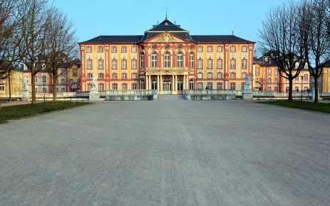 Gartenfront des Bruchsaler Schlosses