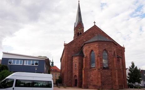 Evangelische Kirche im Ortsteil Graben
