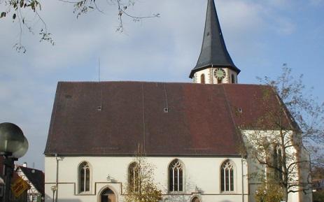 Evangelische Michaelskirche in Kürnbach