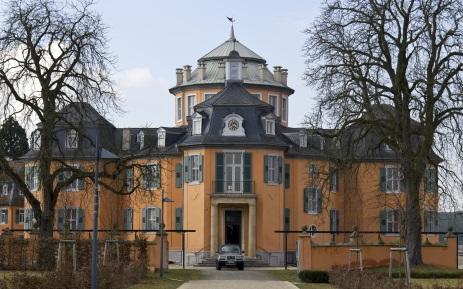 Hauptgebäude der Eremitage in Waghäusel